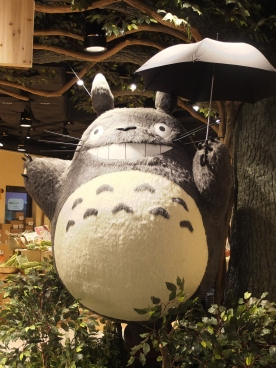 A store devoted to the beloved character, Totoro!