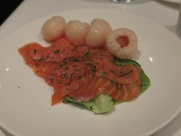 Lunch at a Zelo included this amazing smoked salmon from the salad bar