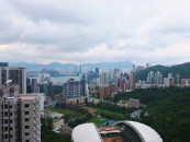 A view of Happy Valley from my aunt and uncle's home