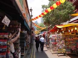 The market in Singapore's Chinatown