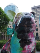 Art outside ION Orchard mall in Singapore