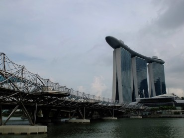 Back in the main area of Singapore