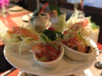 Thai style high tea - salads