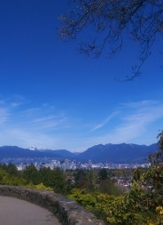 A view from Queen Elizabeth Park