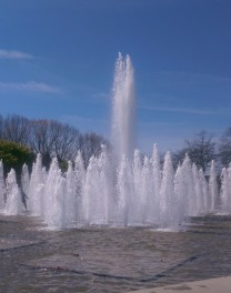 Fountains at Queen Elizabeth Park