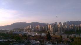 A view of Vancouver from a secret location.