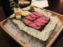 Washu-Beef Sashimi at Bohemian