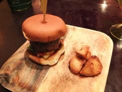 Washu-Beef Burger at Bohemian