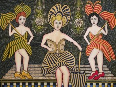 Stage Beauties by Morris Hirshfield
