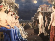 The Great Sirens by Paul Delvaux