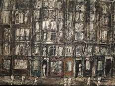 Apartment Houses, Paris by Jean Dubuffet