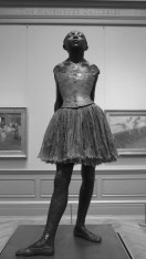 The Little Fourteen-Year-Old Dancer by Edgar Degas