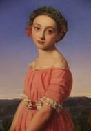 Faustine Léo by Henri Lehmann