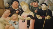 The Presidential Family by Fernando Botero