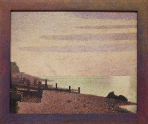 Evening, Honfleur by Georges-Pierre Seurat