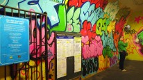 Subway tunnel beautification project