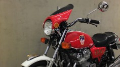 A bike belonging to a firefighter lost in 9/11, which was fixed up by his team as a tribute.