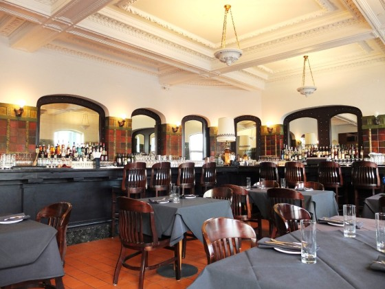 The historic and gorgeous lounge and bar.