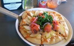 Salmone Pizza