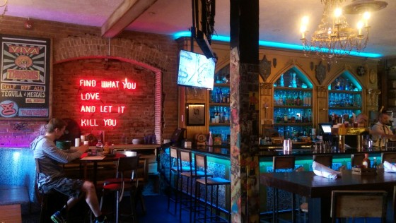 An interior shot of El Cortez from my visit.