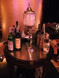 The absinthe cart at Sage