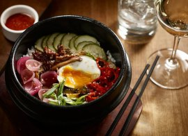 Bibimbap. Photo from Earls site.