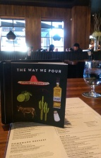 Perusing the Joey menus at the South Edmonton Common location.
