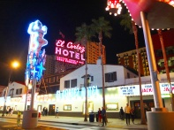 The El Cortez Hotel.