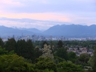 A gorgeous view of downtown Vancouver.