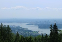 City view from Cypress Hill.