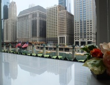 A view from the second floor of TheMART.