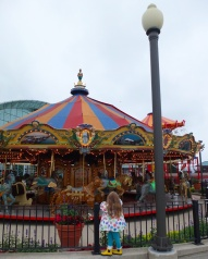 The carousel at Navy Pier.