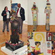Phyllis Bramson's Under the Pleasure Dome exhibit at the Cultural Center.