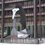Pablo Picasso's commissioned public sculpture.