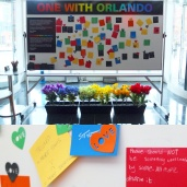 Well wishes for Orlando after the shootings there.