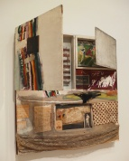 Short Circuit (Combine Painting) by Robert Rauschenberg.