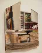 Short Circuit (Combine Painting) by Robert Rauschenberg.