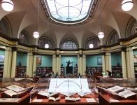 The Ryerson & Burnham Libraries housed inside the Art Institute.