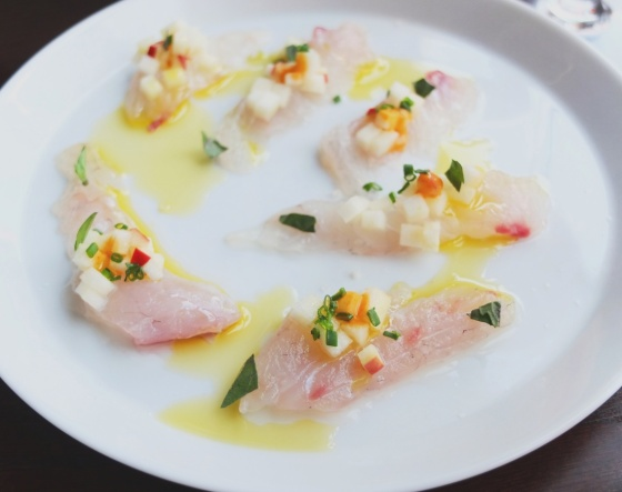 Sea Bream Crudo