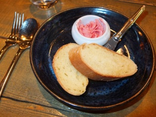 Course 3: Semolina Bread with Sour Cherry & Sage Butter