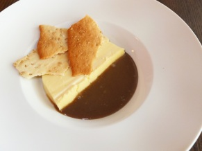 Sesame Egg Custard
