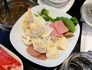 One of the assorted combo platters.