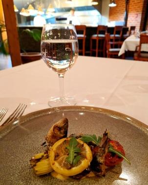 Grilled & Smoked Sardine