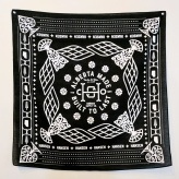 A fun bandana is part of their merchandise line.