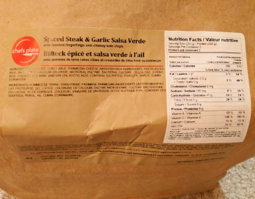 Additional to the nutritional label and ingredients, there are also allergens listed.