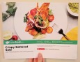 The front of the Crispy Battered Sole recipe card.