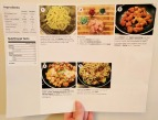 The back of the Cajun Chicken Pasta recipe card.