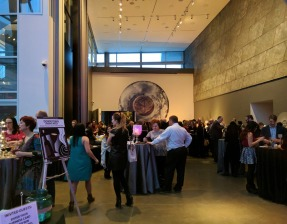 The reception was held at the Art Gallery of Alberta and hosted by Zinc.