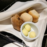 The complimentary bread basket.