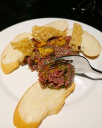 This beef tartare was excellent.
